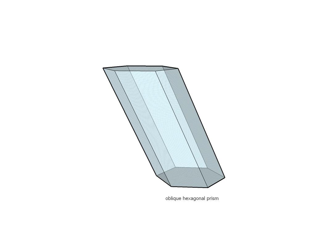 how to draw hexagonal pyramid